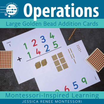 Montessori Big Card Addition