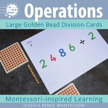 Montessori Big Card Division