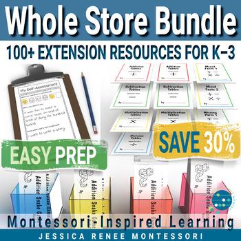 Montessori Big Store Bundle
