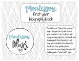 Montessori Biography Writing