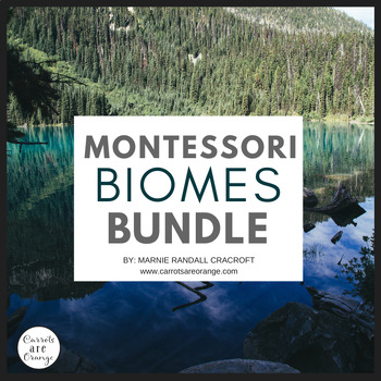 Montessori Biomes Bundle