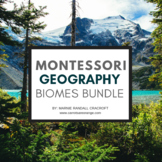 Montessori Biomes Printables Bundle