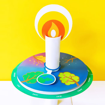 Montessori Birthday Candle Wheel