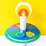 Montessori Birthday Candle Wheel