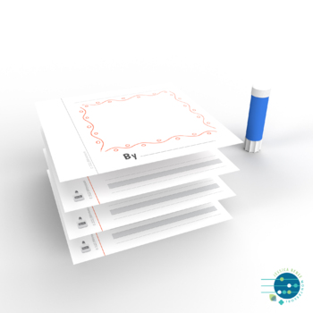 Montessori Blank Booklets for Kids