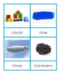 Montessori Blue Series Consonant Blend Cards