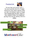Montessori Booklet Materials