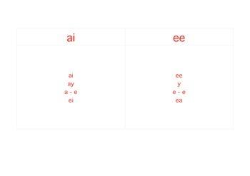 Montessori Booklets EE &  AI