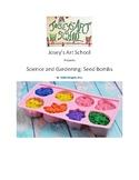 Montessori Botany Science Seed Bombs Pre-K Elementary Visual Recipe Reggio