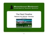 Montessori Botany: The Plant Timeline: Silurian-Devonian Worksheet