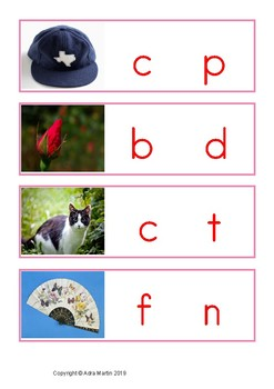 Montessori CVC Missing Vowel