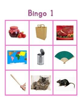 "Montessori CVC Phonics Bingo - ""Pink Series"""