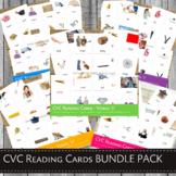 MontessoriLove  Montessori CVC Reading Cards BUNDLE PACK
