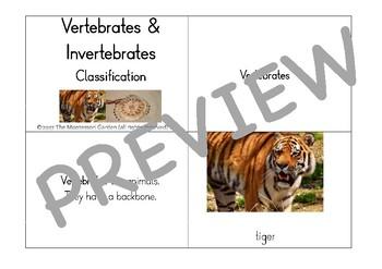 Montessori Cat Classification Bundle