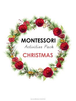 Montessori Activities Pack - Christmas Themed