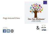 Montessori Classified Cards: Flags Around China