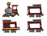 Montessori Classroom Name Train