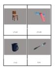 Montessori Classroom objects-Classified cards