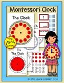 Montessori Clock Material