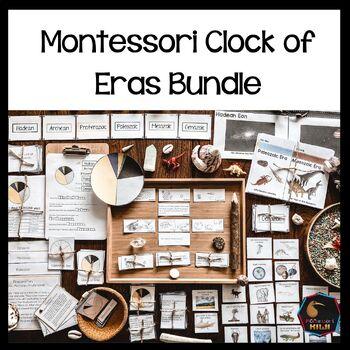 Montessori Clock of Eras Support material