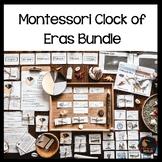 Montessori Clock of Eras Support material bundle