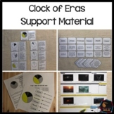 Montessori Clock of Eras Support material bundle