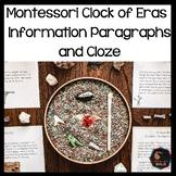 Montessori Clock of Eras paragraphs