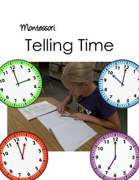 Montessori Clocks Telling Time