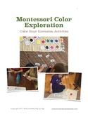 Montessori Color Box Extension Activities