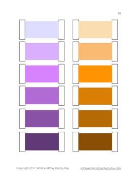 Montessori Color Boxes 1-3