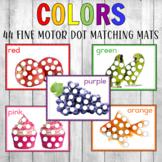 Montessori Color Dab and Dot Sheets Real Photos