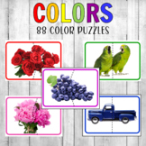 Montessori Color Matching Puzzles Real Photos
