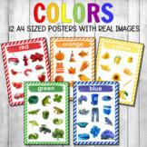 Montessori Color Posters Real Photos Version 1