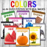 Montessori Color Posters Real Photos Version 2