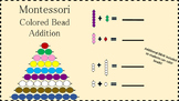 Montessori Colored Bead Stair Addition