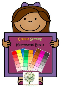 Montessori Colour Box 3
