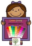 Montessori Colour Box 3