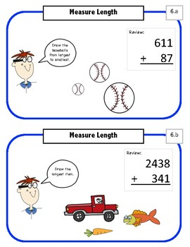 Marigold  Math - A Visual Math Program - 1st grade - set 2