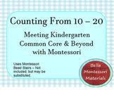 Montessori & Common Core - Counting to 20
