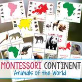 Montessori Continent Animals of The World