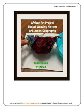Montessori Continent Bundle 2 Africa Art Cooking Pre-k to 3rd Grade Primary