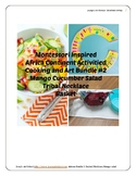 Montessori Continent Bundle 2 Africa Art Cooking Pre-k to