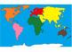 Montessori Continents Map