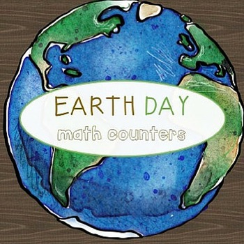 Montessori Counters - Earth Day theme