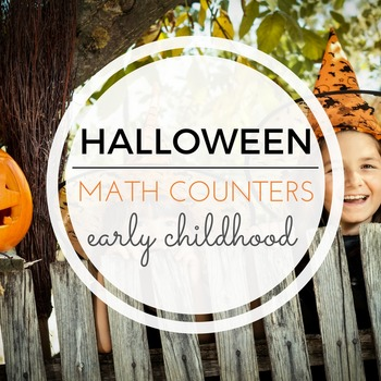 Montessori Counters - Halloween theme