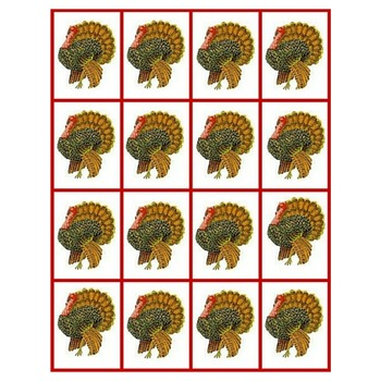 Montessori Counters - Thanksgiving Theme