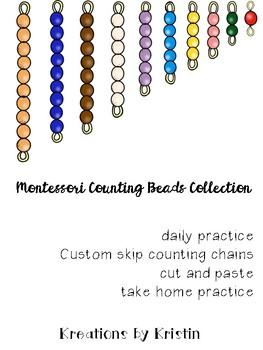 Montessori Counting Beads