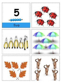 Montessori Counting Work--Preschool Math