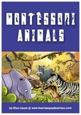 # Montessori Cultural Area: Zoology - Worksheets for Kindergarten