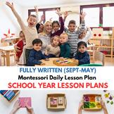 Montessori Curriculum FULL School Year Sept through June D